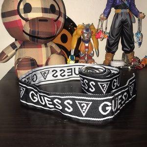 Guess logo women's belt